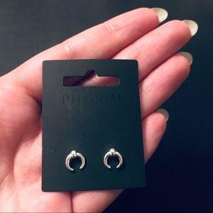 PILGRIM Tiny Silver Studs / Minimalist / Dainty